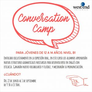 SUMMER CAMPS 2017 conversation